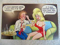 Vintage Bamforth Comic Postcard
