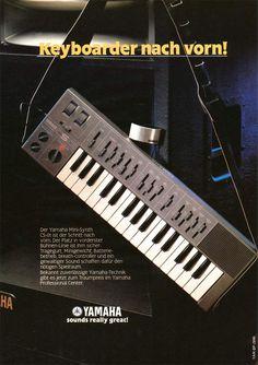 YAMAHA CS-01 Anzeige 1982