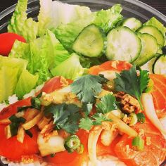 BENTEN BOWL is at Magento Inc. today till 2:15.  10441 Jefferson Blvd.Culver City 90232  Our Signature Salmon Poke bowl Vegan bowl and vegetarian bowl are now Gluten Free :) #poke #foodtruck #lunch