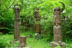 The Archaeology News Network: Slavic idols of Old Russia Lithuania Travel, Poland Travel, Italy Travel, Archaeology News, Asatru, Eastern Europe, Trees To Plant, Pagan, Macedonia