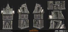 ArtStation - Total War Warhammer Vampires cities, NIKKI Lynch