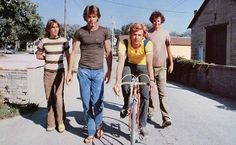 "Breaking Away [1979]. Peter Yates directed this poignant, charming, and very funny comedy/drama, concerning 4 friends and their adventures in the ""what now?"" year following high school graduation. There's plenty in it to chew on — finding one's own personality, struggling with class distinctions, romance, the importance and value of friendships."