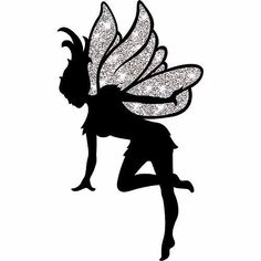 6 Best Images of Fairy Cut Out Printables - Fairy Silhouette ...