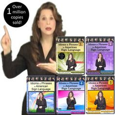 Idioms & Phrases in American Sign Language, Vol. 1-5 (5-DVD Set) | Everyday ASL Productions, Ltd.