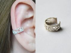 """Shop put  favorites, we often have discounts and promotions! Pls, keep an eye on the store - https://www.etsy.com/ru/shop/EarringsEarcuffs      I make a gift with every order :)        Ear cuffs Magnificent Century - grand and pretentious.  Many girls are afraid to use to create your own images deliberately lush and complex solutions. Our popular, among the thousands of true fashionistas online store for jewelry, offers a luxurious ear cuffs """"Magnificent Century"""". The name of this accessory…"""