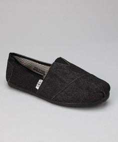 Black slip on flat shoe Everyday Shoes 11435f18cc