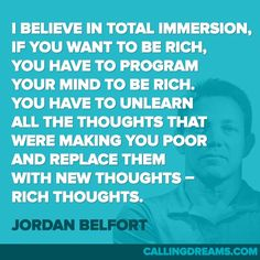 10 Jordan Belfort Quotes for Success from The Wolf of Wall Street