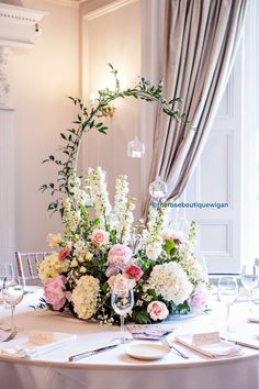 Top 5 Never Been Seen Wedding Table Centerpieces - Put the Ring on It Church Wedding Decorations, Wedding Table Centerpieces, Floral Centerpieces, Flower Decorations, Centrepieces, Modern Flower Arrangements, Table Arrangements, Floral Wedding, Wedding Bouquets