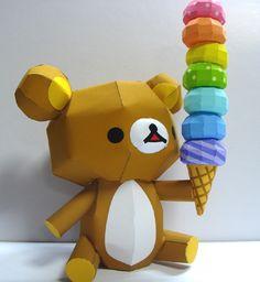 [공유] 아이스크림 들고있는 리락쿠마 : 네이버 블로그