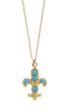 Collier Clovis Turquoise