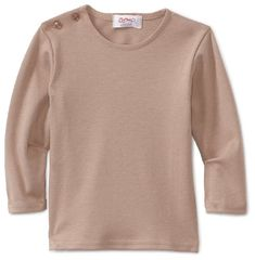 Zutano Unisexbaby Infant Cocoa Solid Organic Long Sleeve Tee Cocoa 6 Months * To view further for this item, visit the image link. (This is an affiliate link) #BabyGirlTops
