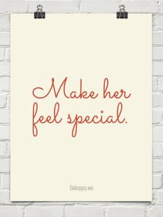 Make her feel special. #53112