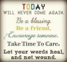 #Be a #blessing to #someone