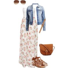 Summer Pentecostal Outfit 1 by daisnalopez on Polyvore featuring polyvore fashion style NLY Eve VILA Valentino Komono Eloquii