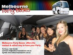Celebrate in Style with Cheap Hen Party Bus Hire from Melbourne Party Buses