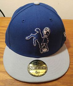 New Era 59Fifty Indianapolis Colts Retro Throwback Hat Cap Fitted NFL  Football Football Gear 93ff0abe6