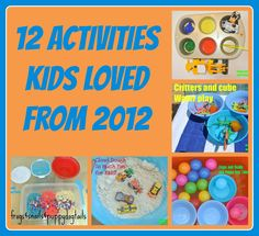 12 of Our Most Loved Activities/Crafts of 2012