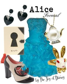 """Alice (Alice in Wonderland)"" by thejoyofdisney on Polyvore"