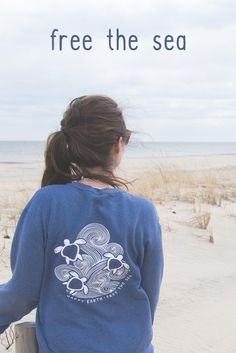 Happy Earth Apparel | Save 15% off your entire purchase with coupon code 'BJanx15' | Protect a part of our planet with every purchase! | long sleeve turtle tshirt perfect for summer and festivals. Coachella, Burning Man, and Bunbury. Cute trendy pastel shirt perfect for any animal loving friend gift!