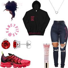 Swag Outfits For Girls, Cute Swag Outfits, Teenage Girl Outfits, Cute Outfits For School, Teen Fashion Outfits, Edgy Outfits, Prep Fashion, Fashion Dresses, Scene Outfits