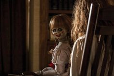 Win the creepy doll from the Conjuring at www.horror-movies.ca