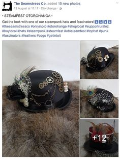 Image result for steamfest fashion Riding Helmets, Steampunk, Hats, Image, Fashion, Moda, Hat, Fashion Styles, Fashion Illustrations