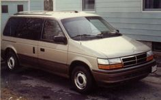 My 92 Dodge Caravan Much Better Looking Than 88 Voyager