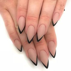 30 große Stiletto Nail Art Design-Ideen – Stiletto Nail Art – Nail Designs, You can collect images you discovered organize them, add your own ideas to your collections and… Pointy Nails, Stiletto Nail Art, Acrylic Nails, Coffin Nails, Short Stiletto Nails, Stiletto Nail Designs, Coffin Acrylics, French Nails, Cute Nails