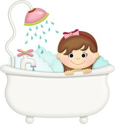 CH.B *✿* SqueakyClean, Free Coloring, Coloring Pages, Craft Images, Baby Clip Art, Korean Art, Pin Up Style, Bath Time, Organizer, Clipart Baby