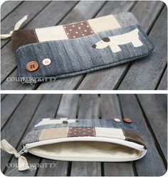 sweet dog pencil case by countrykitty, via Flickr