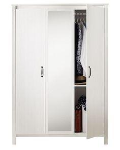 Trzydrzwiowa szafa BRUSALI. Cena: 599 zł. IKEA