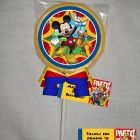 Mickey Mouse Clubhouse Personalized Chocolate Lollipop or Cookie Favor