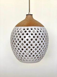 Pendant Lamp (Large) 0051 — HEATHER LEVINE CERAMICS