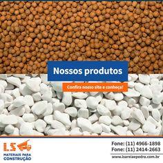 A gama de produtos oferecidos é o diferencial que a LS garante a você.  http://www.lsareiaepedra.com.br/produtos.html