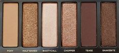 Naked Eye palette.   every girls must have