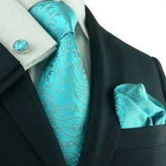Paisleys Mens Silk Tie Set