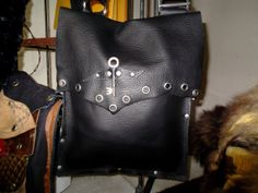 Handcrafted Leather Boho Large Messenger by WhiteBuffaloCreation, $99.00