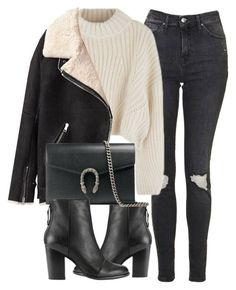 Untitled #6922 by laurenmboot on Polyvore featuring Acne Studios, Topshop, rag & bone and Gucci