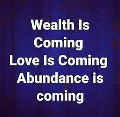 Positive Self Affirmations, Wealth Affirmations, Morning Affirmations, Law Of Attraction Affirmations, Law Of Attraction Quotes, Faith Quotes, Life Quotes, Motivational Quotes, Inspirational Quotes