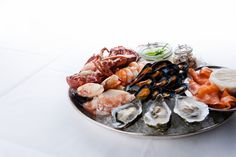 Seafood Platter... Yumm Seafood Platter, Oyster Bar, Cliff, Oysters, Townhouse, Restaurant, Cheese, Terraced House, Diner Restaurant