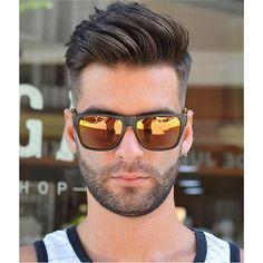 Men's Toupee Human Hair Hairpieces for Men inch Thin Skin Hair Replacement System Monofilament Net Base ( Medium Hair Cuts, Medium Hair Styles, Short Hair Styles, New Men Hairstyles, Haircuts For Men, Men's Haircuts, Hairstyles 2018, Haircut Men, Fade Haircut