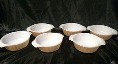 Set of 6 Anchor Hocking Fire King Peach Luster 12oz Mini Casserole Dish 472   Pottery & Glass, Glass, Glassware   eBay!