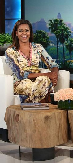 First Lady is Co-Host on the Ellen Degeneres Show