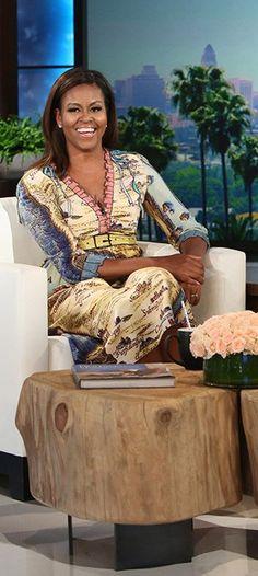 First Lady is Co-Host on the Ellen Degeneres Show