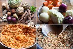 Kuchařka ze Svatojánu: DOMÁCÍ POLÉVKOVÉ KOŘENÍ Korn, Kimchi, Preserves, Food To Make, Grains, Rice, Homemade, Vegetables, Cooking
