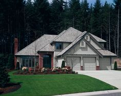 Dover Grey Board and Batten siding and trim  #siding