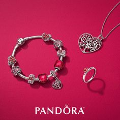 5877154fd Make a loving statement with the vibrant colors of pinks and reds from the  New Valentine's collection from PANDORA. Rock Hill, Park Road and Arbo  locations ...