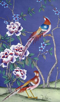 Griffin & Wong Chinoiserie Papers - Summer Palace