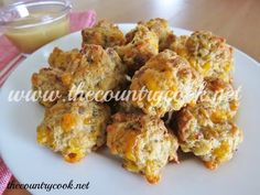 The Country Cook: Cream Cheese Sausage Balls. This is a great little recipe. The first time I ever tried it, we found it in an old Sothern Living Cook Book. This is very much the same recipe and they are absolutely fantastic. They make terrific appetizers.