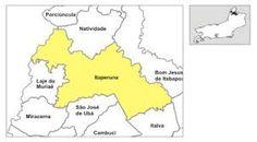Resultado de imagem para mapa antigo de Itaperuna